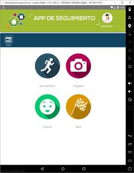 App de seguimiento syot layar 5