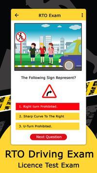 RTO Driving Licence Exam screenshot 4