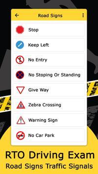 RTO Driving Licence Exam screenshot 2