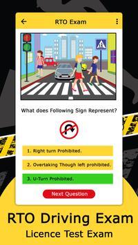 RTO Driving Licence Exam screenshot 3