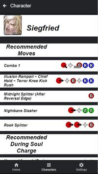 Moves Guide for SC VI screenshot 2