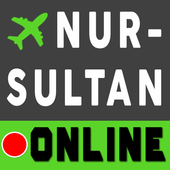 Online timetable Airport Astana Nursultan TSE icon