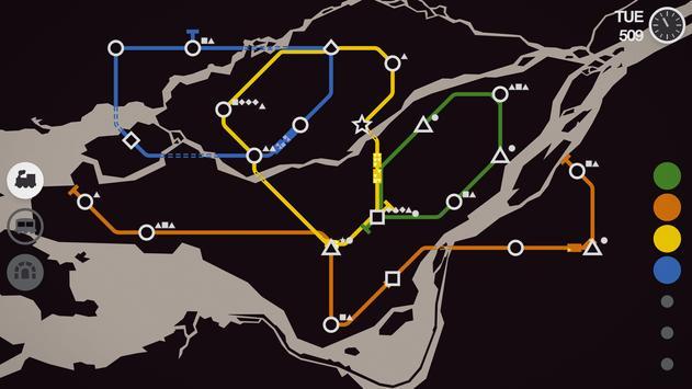 Mini Metro screenshot 4