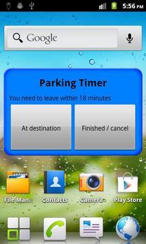 Parking Timer Free screenshot 2