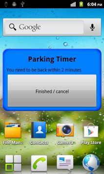Parking Timer Free screenshot 5