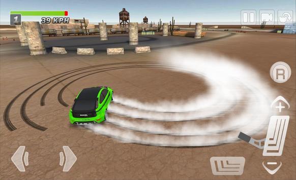 Driftkhana Free Drift Lite screenshot 7