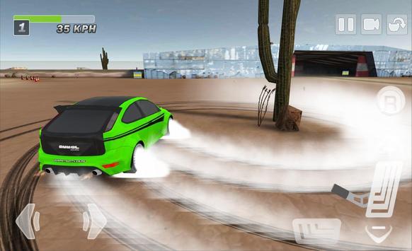 Driftkhana Free Drift Lite screenshot 2