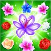 Paradis de fleur de jardin icône