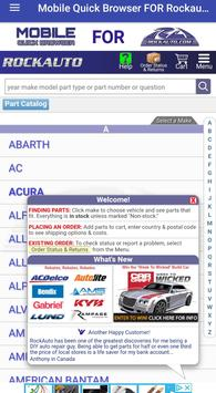 Rockauto Mobile App >> Mobile Quick Browser For Rockauto For Android Apk Download