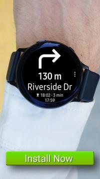 Navigation Pro: Google Maps Navi on Samsung Watch 截图 6