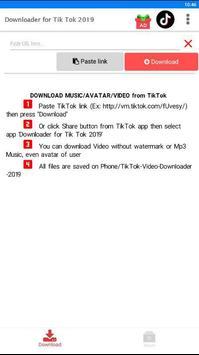 Video Downloader for TikTok - No Watermark poster