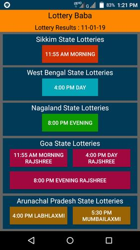 Lottery Baba -11:55AM, 4 PM & 8 PM Lottery Results for Android - APK