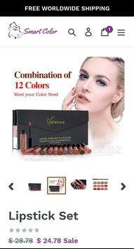 SmartColor - Natural Beauty Cosmetics screenshot 1