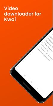 Downloader de vídeo para Kwai - Sem marca d'água Cartaz
