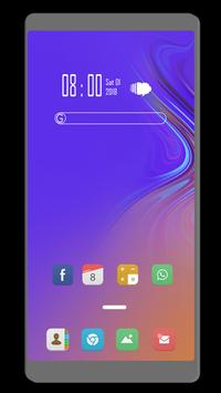 Theme for Samsung Galaxy A50 screenshot 1