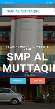 SMP AL MUTTAQIN INFORMASI poster