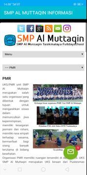 SMP AL MUTTAQIN INFORMASI screenshot 4
