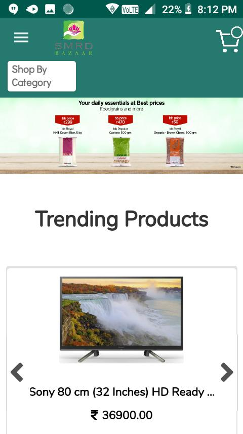 SMRD Bazaar online shopping App for Android - APK Download
