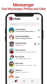 Messenger SMS & MMS-poster