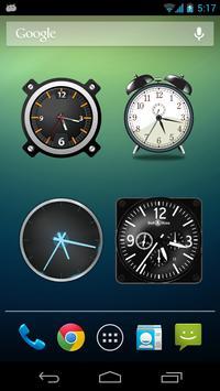 Analog Clock Wallpaper/Widget screenshot 4