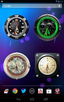 Analog Clock Wallpaper/Widget screenshot 10