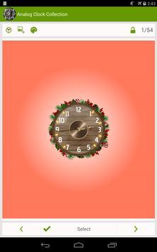 Analog Clock Wallpaper/Widget screenshot 11