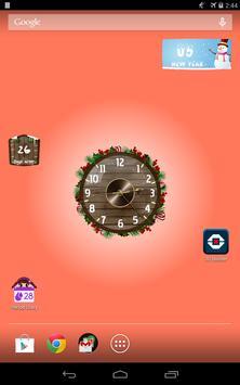 Analog Clock Wallpaper/Widget screenshot 16