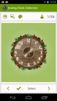 Analog Clock Wallpaper/Widget screenshot 3
