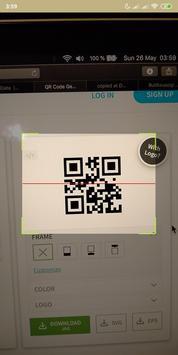 Tahir Scan - QR scanner screenshot 1