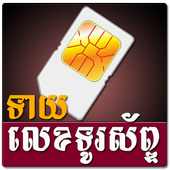 Khmer Phone Number Horoscope ikon