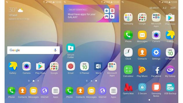 Launcher Theme - Samsung J7 Pro 2017 New Version cho Android - Tải