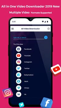 All in One Video Downloader 2019 New poster
