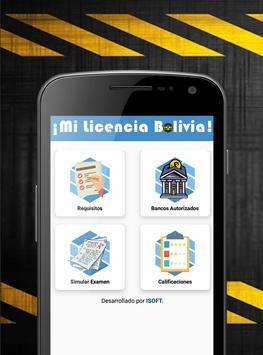 ¡Mi Licencia Bolivia! poster
