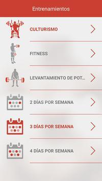 Fitness & Bodybuilding captura de pantalla 3