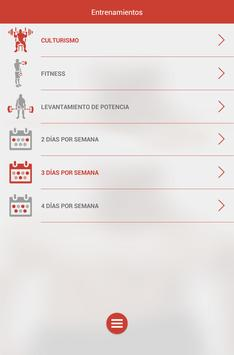 Fitness & Bodybuilding captura de pantalla 19