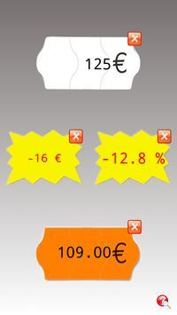 Calculatrice soldes Multi poster