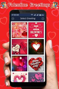 Valentine Greeting Card : Love Greeting Card poster