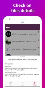 Soly - Lyrics Generator | LRC Editor, LRC Player screenshot 21
