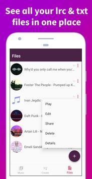 Soly - Lyrics Generator | LRC Editor, LRC Player screenshot 4