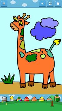 Kids Coloring ( Land animals ) screenshot 3