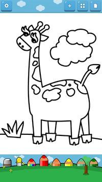 Kids Coloring ( Land animals ) screenshot 1