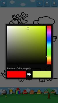 Kids Coloring ( Land animals ) screenshot 2