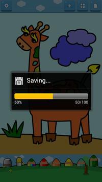Kids Coloring ( Land animals ) screenshot 5