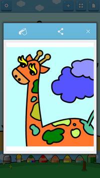 Kids Coloring ( Land animals ) screenshot 6