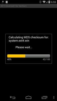 AFV File Verifier for Android™ screenshot 4