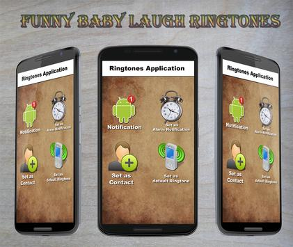 Funny Baby Laugh Ringtones poster