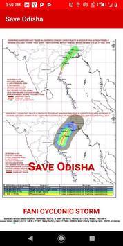 SAVE ODISHA from FANI CYCLONIC STORM screenshot 2