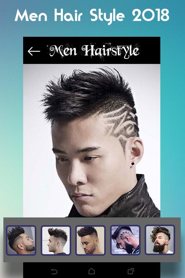 Download aplikasi di hp Men Hairstyle set my face 2019
