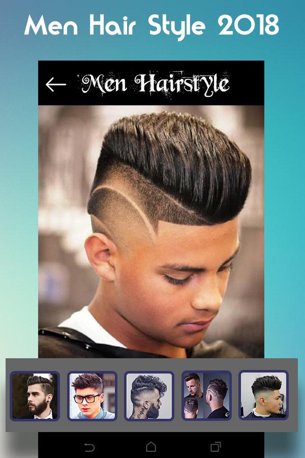 Aplikasi game android apk Men Hairstyle set my face 2019