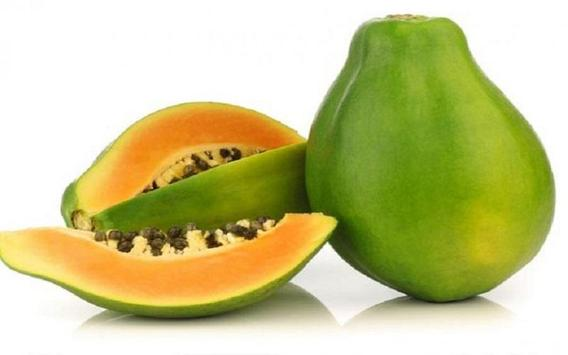 Benefits of papaya poster